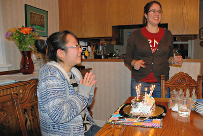 2013 11 30: Rachel's 18th Birthday
