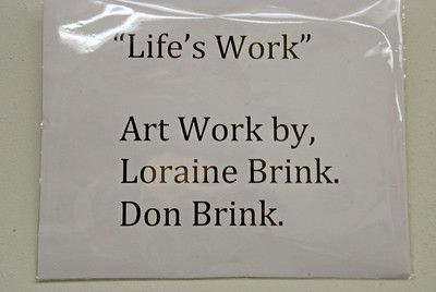 2014 02 08:  Gallery Show, Don & Loraine Brink