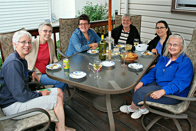 2014 08 01:  Carla and Friends, Dinner Party