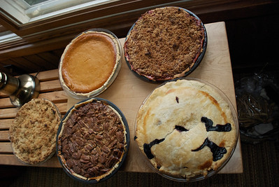 2011 11 24:  Thanksgiving Pies