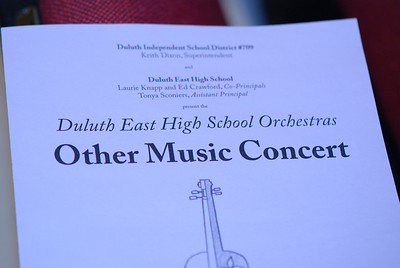 """2011 03 14: Duluth East H.S. Orchestras Concert, """"Other Music,"""" CSS, Duluth, MN"""