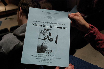 "2010 03 15:  Duluth East Orchestra, ""Other Music"""