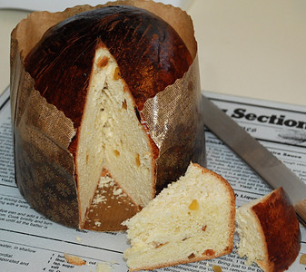 2010 12 23:  Fresh, Homemade Panettone
