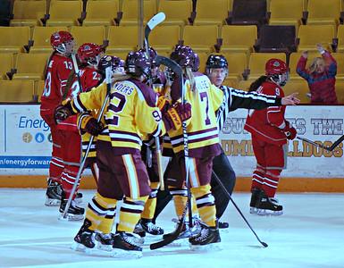 2015 02 22: Women's Hockey, Minnesota-Duluth, Senior Day