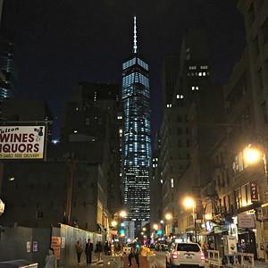 2015 07 16:  NYC, Fulton Street, Manhattan, World Trade Center, Ambrose Lightship