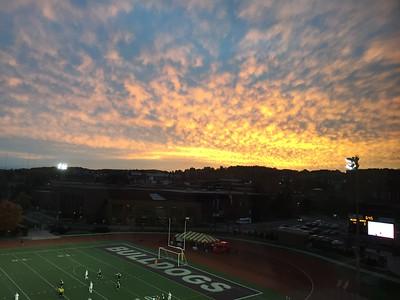 2015 10 09: Sunset, UMD Pressbox